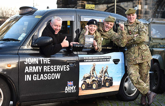 Glasgow Taxis recognised for commitment to community