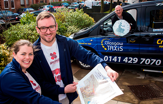 Cabbies' contribution is perfect medicine for fundraising nurses