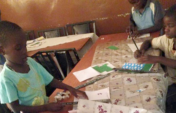 Stationery Taxis drive education in Malawi