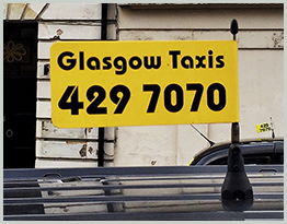 Glasgow Taxis Number