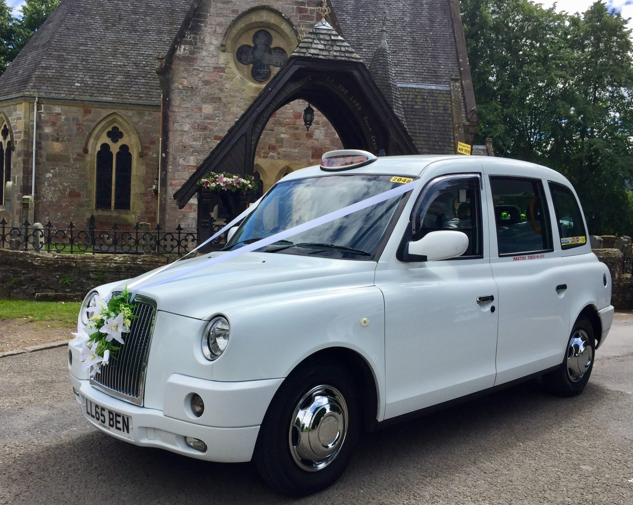 Glasgow Taxis wedding car